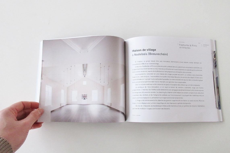 Décembre 2015 - La Maison de village de Nodebais publiée dans le Tome 15 de la série Architectures