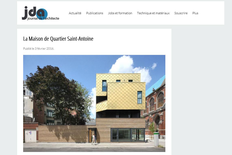 La Maison de quartier Saint-Antoine