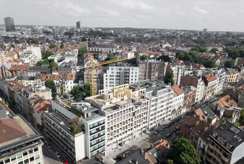 42 appartements : vues du ciel
