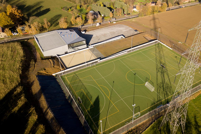 Inauguration de l'infrastructure sportive de Virginal