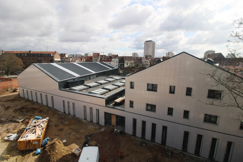 Chantier - Centre administratif de la commune d'Anderlecht