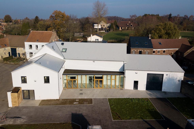Maison de Village, pôle culturel, logement & atelier rural