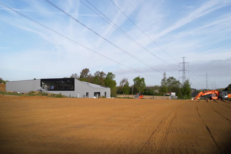 Infrastructure sportive de Virginal -  Aménagement du terrain de Hockey et des abords.