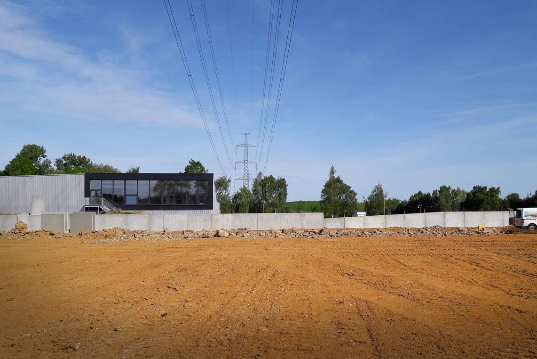 Infrastructure sportive de Virginal et son paysage