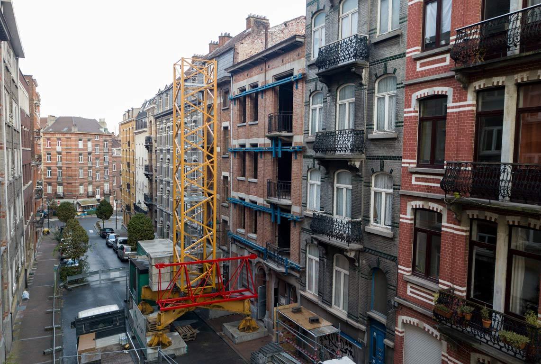 Immeuble de logements Rue Crickx à Saint-Gilles - C'est parti !