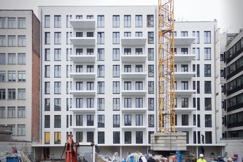 42 appartements, les travaux se poursuivent !